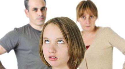 """""""Meus pais nunca estão satisfeitos comigo"""""""