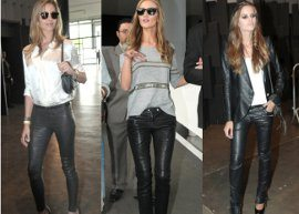 Ana Beatriz Barros, Rosie Huntington-Whiteley e Izabel Goulart