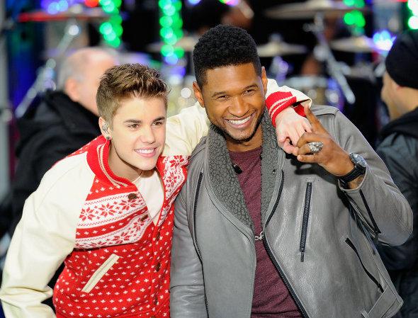 Justin Bieber e Usher acertam dueto