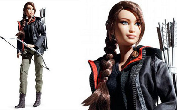 Barbie Katniss de Jogos Vorazes