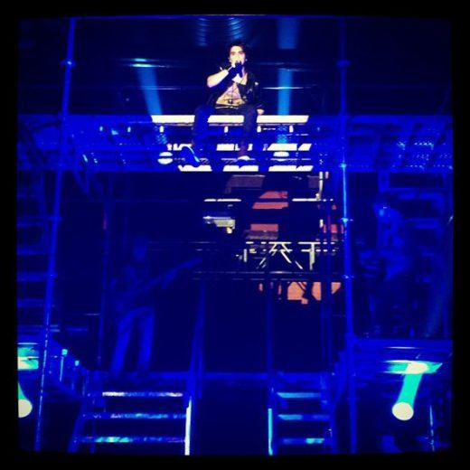 Luan Santana em show de lançamento de seu novo CD