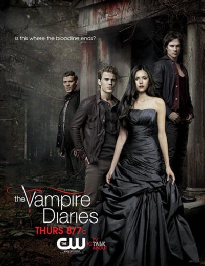 Cartaz da terceira temporada de Vampire Diares