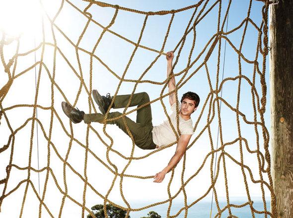 Zac Efron na revista Men´s Healthy
