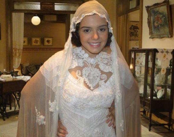Giovanna Lancellotti se veste de noiva!