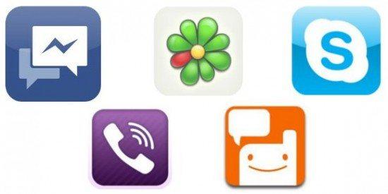 5 aplicativos gratuitos de comunicação instantânea