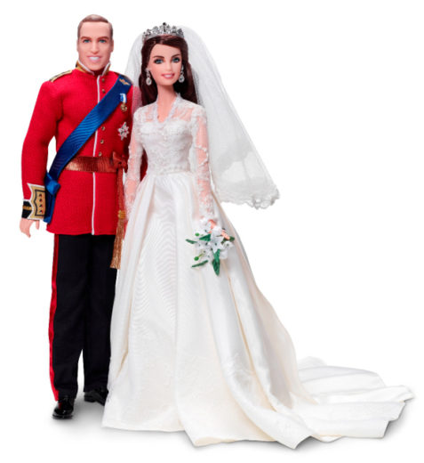 Casal Real ganha versão Barbie