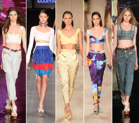 As principais tendências apresentadas no Fashion Rio 2013