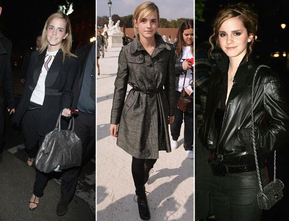 Emma Watson com roupas do dia a dia