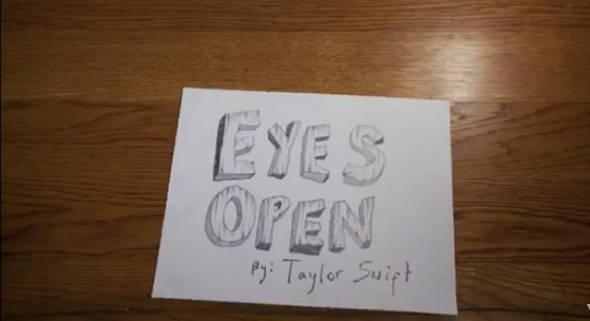 Fofa! Taylor Swift lança clipe de Eye Open em stop motion