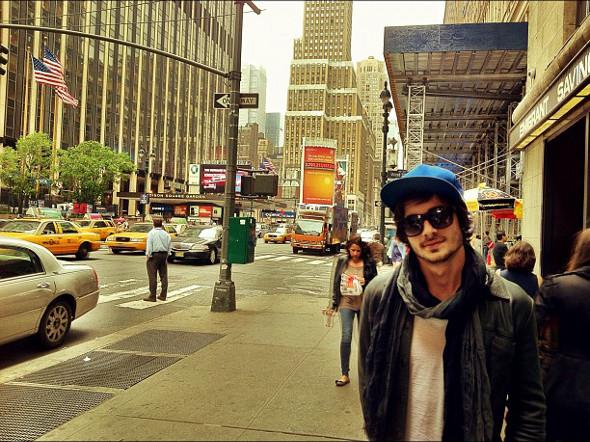 Fiuk aproveita as férias em Nova Iorque