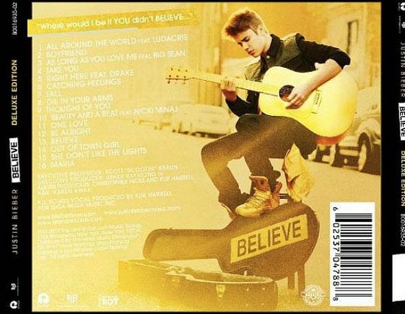 Saiu! Justin Bieber divulga faixas do álbum Believe!