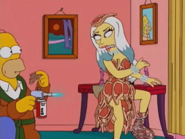 "Lady Gaga vira personagem de ""Os Simpsons""!"