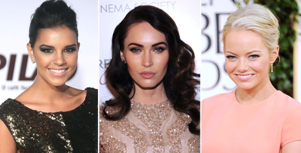 Emma Stone, Megan Fox e Mariana Rios batom nude