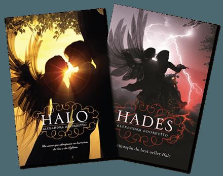 Livros Halo e Hades