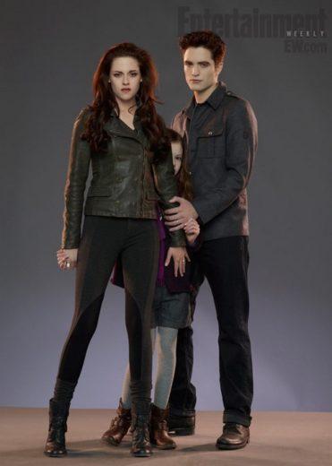 Primeira imagem da filha de Bella e Edward é divulgada!