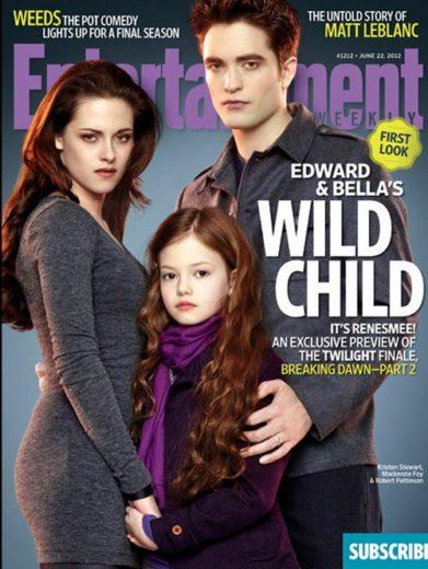 Primeiras imagens da filha de Bella e Edward são divulgada!