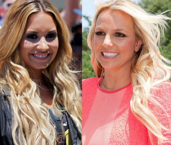 """Climão: Demi Lovato e Britney Spears não se suportam nos bastidores de """"The X Factor"""""""