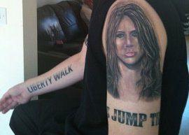 Fã tem 15 tatuagens em homenagem a Miley Cyrus