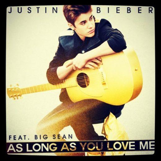 """Justin Bieber lança mais uma música: """"As Long As You Love Me""""!"""