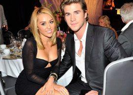 Ao lado de Liam Hemsworth, Miley Cyrus exibe corpão!