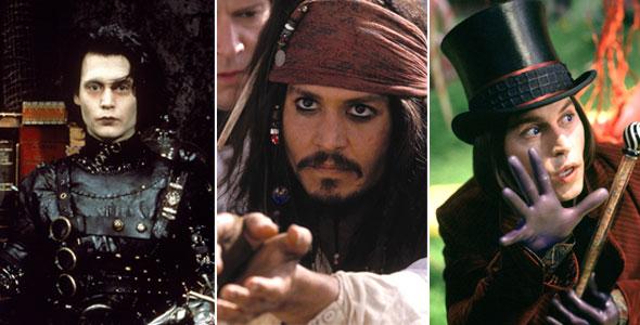 Os personagens que marcaram a carreira de Johnny Depp