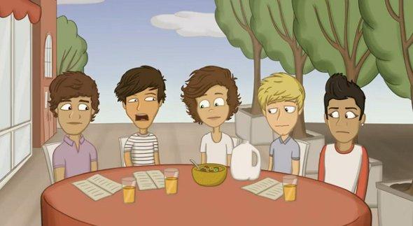 One Direction pode ganhar seu próprio desenho animado