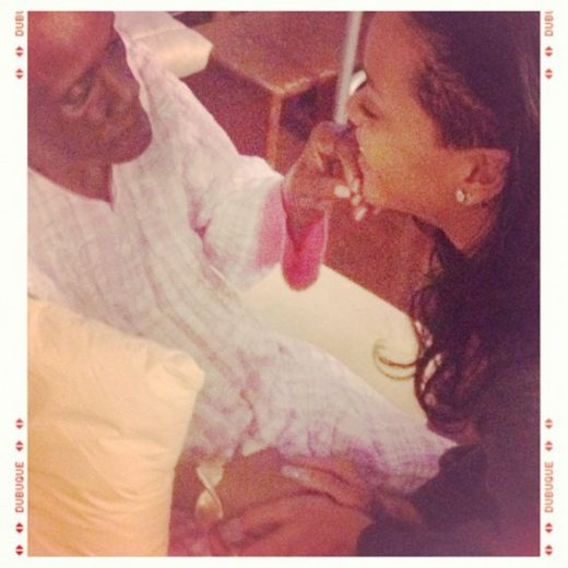 'Coração sorriu e chorou', diz Rihanna ao reencontrar avó