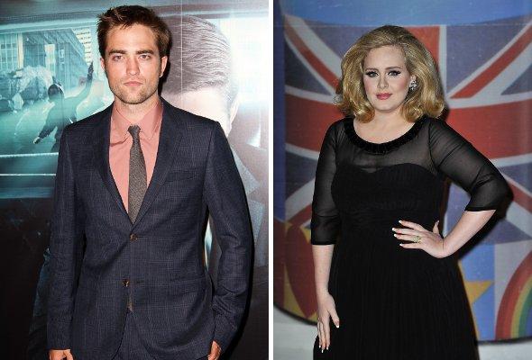 OMG! Robert Pattinson e Adele discutem durante festa