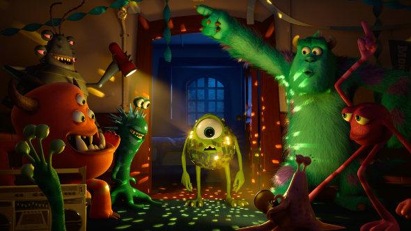 O novo trailer de Universidade Monstros