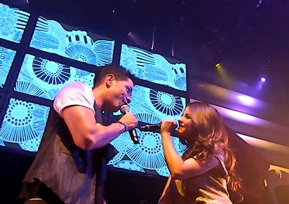 Para matar a saudade, Christian Chávez e Maite Perroni fazem dueto juntos