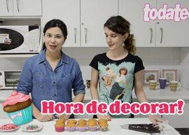 Aprenda a fazer um delicioso cupcake