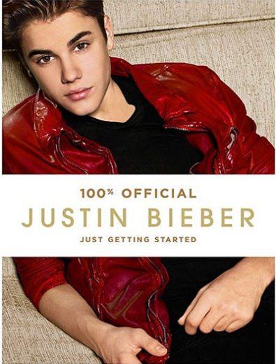 Justin Bieber divulga capa de seu novo livro no Twitter