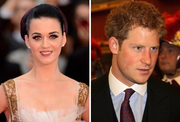 Katy Perry quer sair com o príncipe Harry