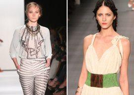 Modelos desfilando tendências Moda GG