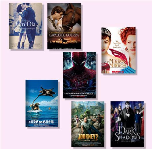 Os lançamentos de DVD do mês de julho