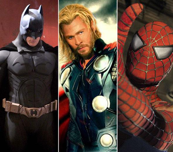 Qual super-herói do cinema seria o seu namorado ideal?