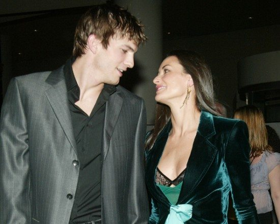 Demi Moore e Ashton Kutcher