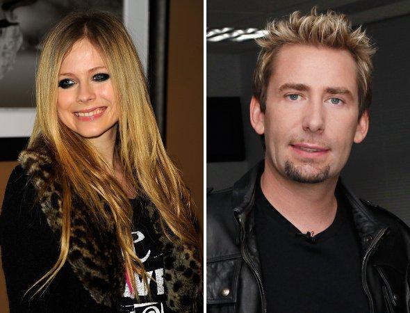 Supresa! Avril Lavigne está noiva do vocalista do Nickelback