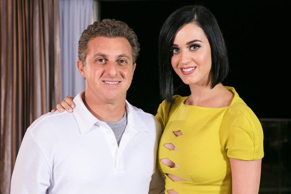 Caldeirão do Huck exibe entrevista com Katy Perry