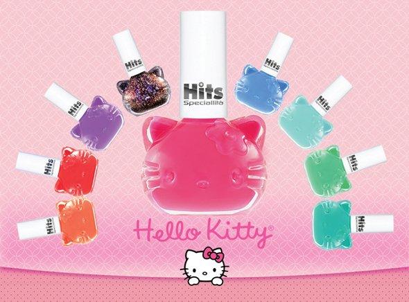 Hello Kitty lança nova coleção de esmaltes