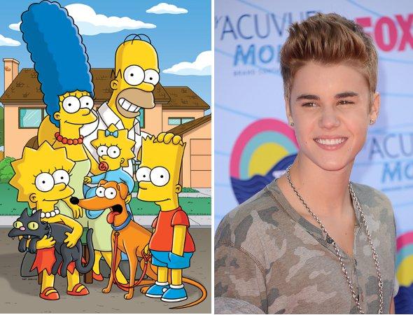 Justin Bieber confirma participação em The Simpsons