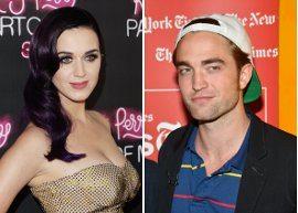 Aí tem? Robert Pattinson e Katy Perry saem para jantar juntos