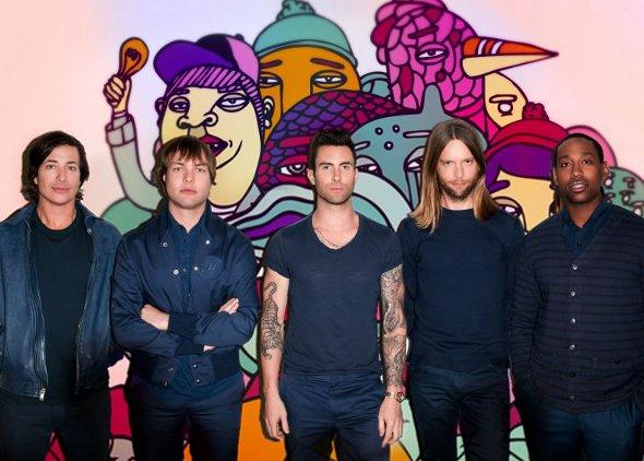 Rádio Disney leva os fãs do Maroon 5 para um encontro exclusivo com a banda