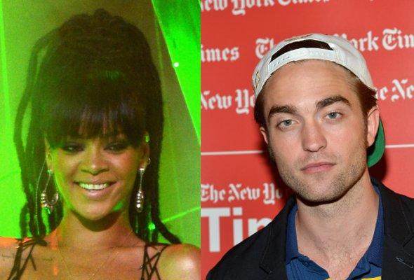 Rihanna está mandando mensagens calientes para Robert Pattinson!