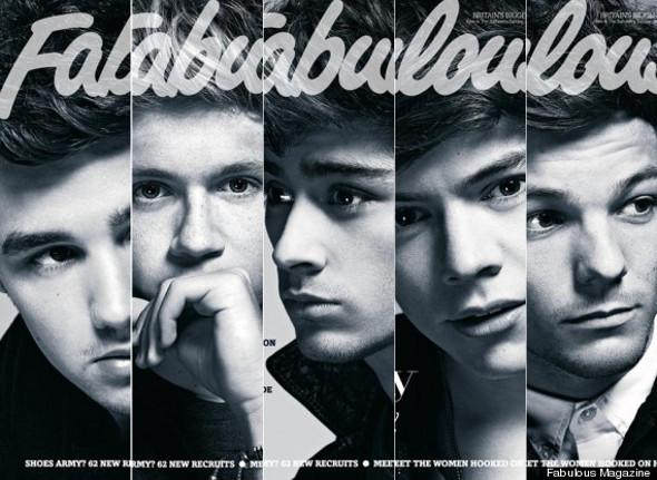 One Direction vira capa especial de revista inglesa