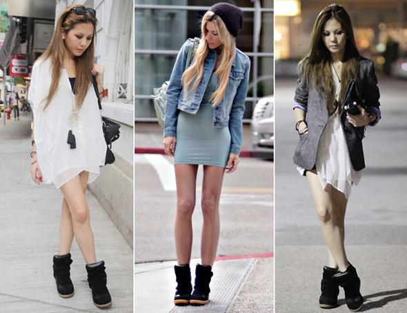 Como usar sneakers com vestidos