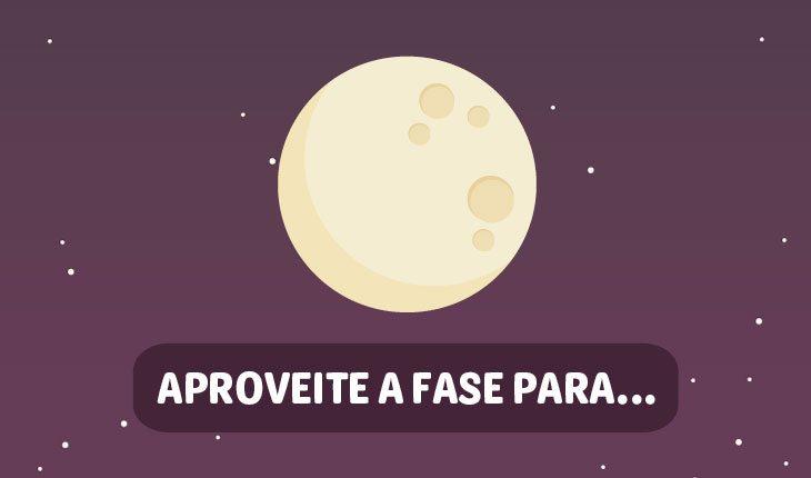 Influências da Lua no amor: Lua Cheia