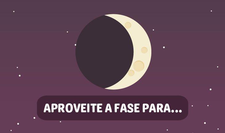 Influências da Lua no amor: Lua Minguante