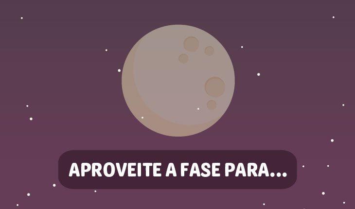 Influências da Lua no amor: Lua nova