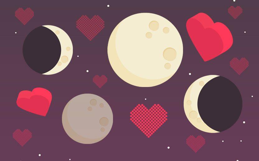Influências da Lua no amor